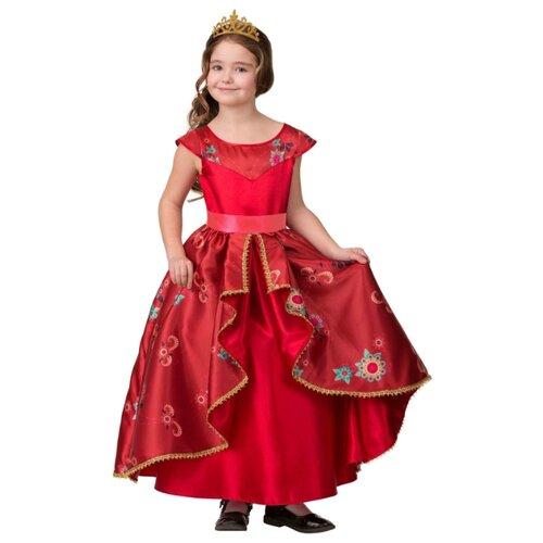 Купить Костюм Батик Елена из Авалора (1908), красный, размер 122, Карнавальные костюмы