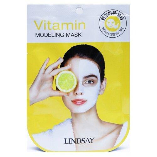 Lindsay альгинатная маска Vitamin Disposable Modeling Mask с витаминами, 28 мл недорого