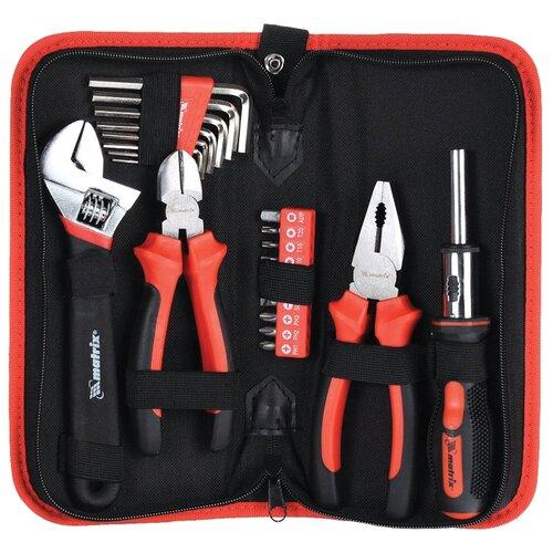 Набор инструментов Matrix (22 предм.) 13561 красный/черный набор инструментов matrix 11579