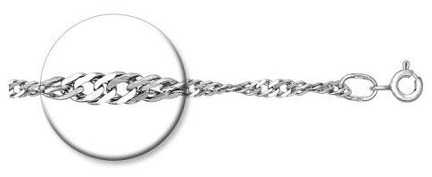 Серебряная цепочка SOKOLOV с позолотой арт. SKC097