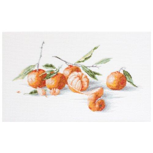 Купить Luca-S Набор для вышивания Спокойная жизнь с мандаринами, 36 х 19.5 см, B2255, Наборы для вышивания