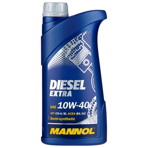 Моторное масло Mannol Diesel Extra 10W-40 1 л моторное масло mannol gasoil extra 10w 40 1 л