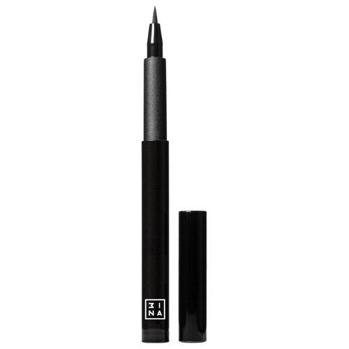 3INA The Pen Eyeliner Подводка-фломастер для глаз, оттенок черный 3ina карандаш для губ с аппликатором 3ina 513