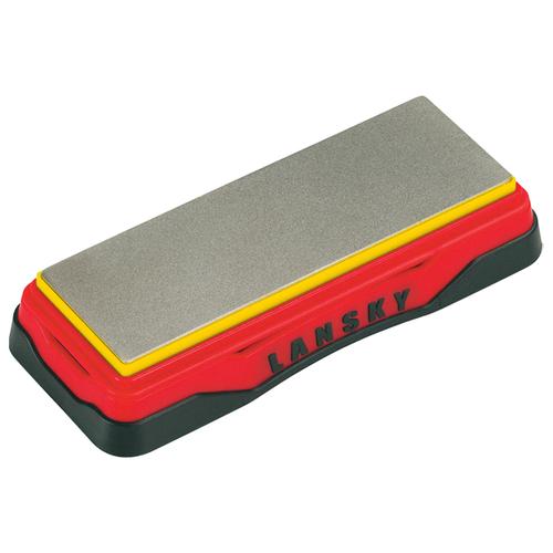 Точильный камень Lansky Diamond Bench Stone (LDB6E) красный/черный точильный камень arkansas lansky lbs6h hard твердый