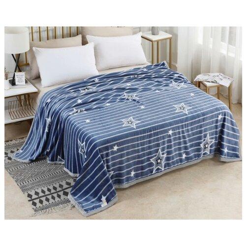 цена на Плед Tango Lindo 200x220 см, синий