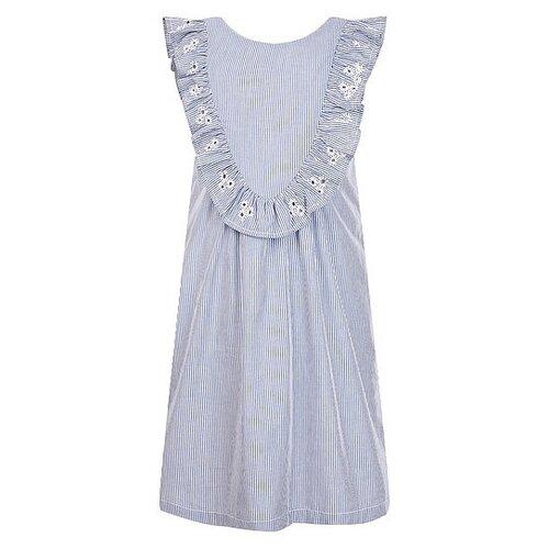 Платье Sonia Rykiel размер 92, голубой/белый