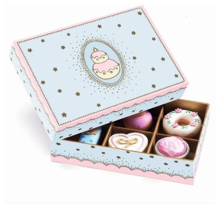 Набор продуктов DJECO Пирожные принцессы 06523/18