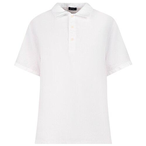 Купить Поло Il Gufo размер 104, белый, Футболки и майки