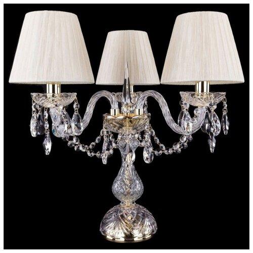 Настольная лампа Bohemia Ivele Crystal 1406L/3/141-39 G SH33-160, 120 Вт настольная лампа bohemia ivele crystal 1406l 3 141 39 g sh13a 160 120 вт