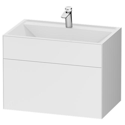 Тумба под раковину AM.PM Inspire 2.0, ШхГхВ: 80.8х49.2х60 см, цвет: белый 1 рамка inspire nina 30x40 см цвет белый