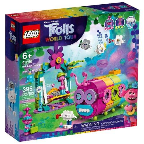 Купить Конструктор LEGO Trolls World Tour 41256 Радужный автобус троллей, Конструкторы