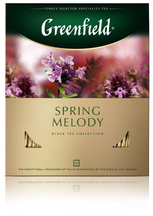 Чай черный Greenfield Spring Melody в пакетиках — купить по выгодной цене на Яндекс.Маркете