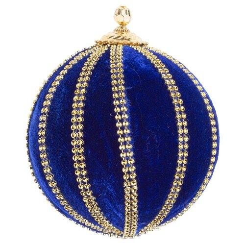 Набор шаров KARLSBACH 09142, синий/золотой