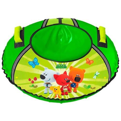 Тюбинг Nika Ми-ми-мишки ТБ1-90/ММ зеленый тюбинг nika тб1 80 мм 80см ми ми миишки желтый с автокамерой