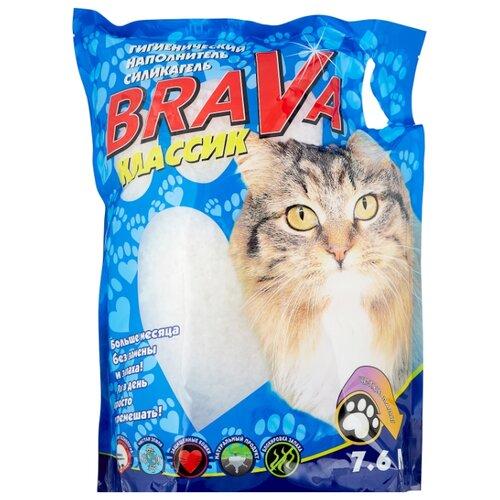 Впитывающий наполнитель Brava Классик 7,6 л впитывающий наполнитель brava классик 10 л