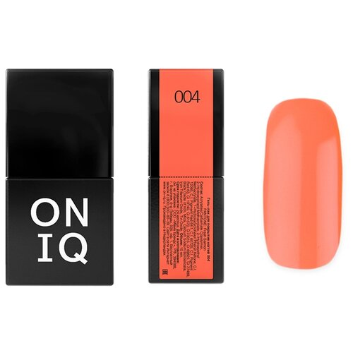 Гель-лак для ногтей ONIQ Pantone, 10 мл, оттенок 004 Fresh Salmon недорого