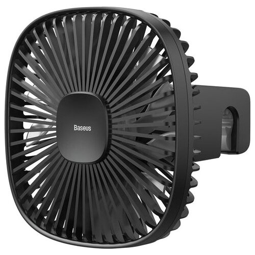 Портативный вентилятор Baseus Natural Wind Magnetic Rear Seat Fan, black