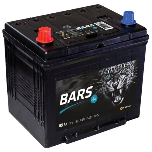 цена на Автомобильный аккумулятор BARS Asia 6СТ-65 VL АПЗ п.п 75D23R