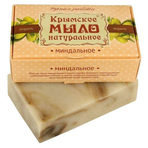 Мыло кусковое Дом Природы Миндальное на оливковом масле, 100 г