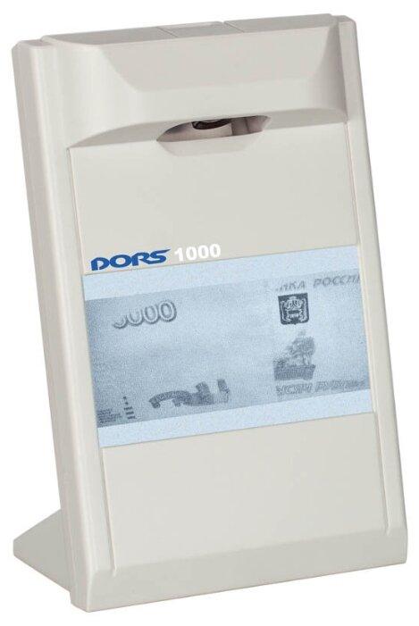 Просмотровый детектор банкнот DORS 1000 М3 серый