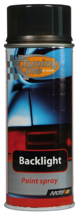 Аэрозольный автомобильный лак MOTIP Tuning Line Backlight Black 0260 400 мл