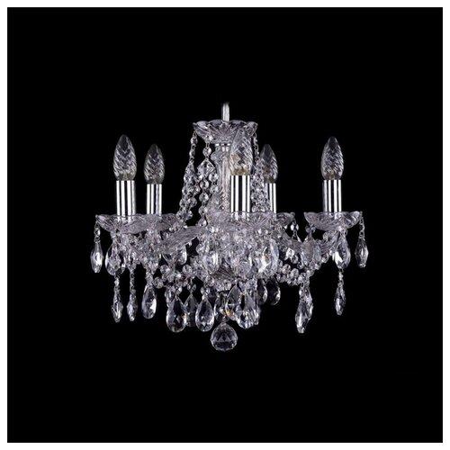 Люстра Bohemia Ivele Crystal 1413 1413/5/141/Ni, E14, 200 Вт люстра bohemia ivele crystal 1413 1413 6 141 g leafs e14 240 вт