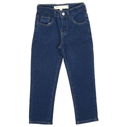 Джинсы MODIS размер 116, темно-синий джинсы miamoda klingel цвет темно синий