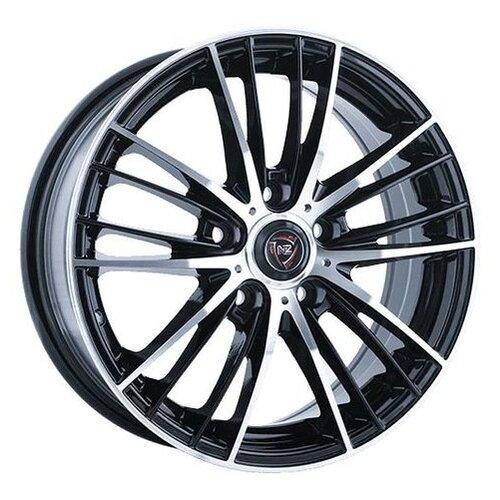 Фото - Колесный диск NZ Wheels F-33 6x15/4x100 D54.1 ET48 BKF колесный диск nz wheels sh662 6x15 4x100 d54 1 et48 sf