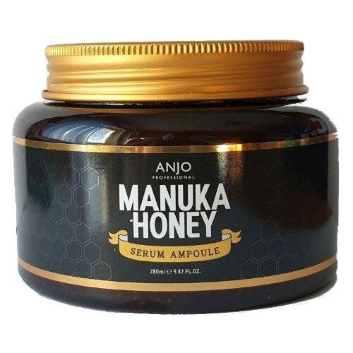Anjo Manuka Honey Serum Ampoule Омолаживающая сыворотка для лица с экстрактом меда манука, 280 мл otome сыворотка для лица омолаживающая 47 мл