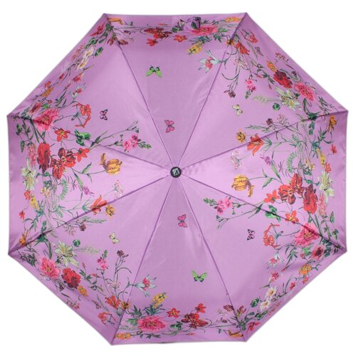 Зонт полуавтомат FLIORAJ Нежность фиолетовый зонт трость женский flioraj 290401 fj полиэстер teflon полуавтомат цвет мультиколор