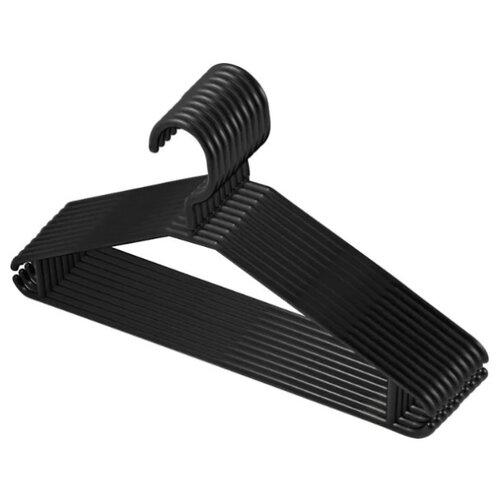 Вешалка Plast Team Multi для одежды 10 шт черный