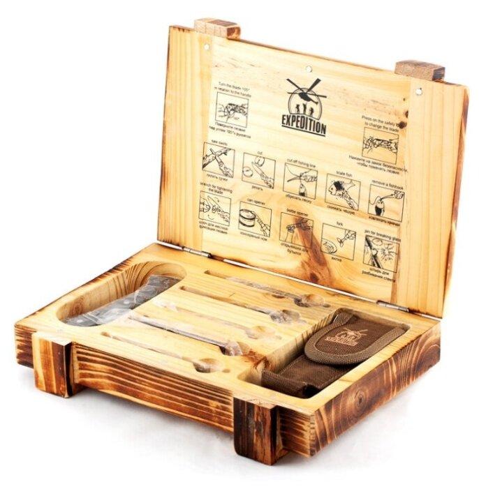 """Набор """"Для выживания"""" в подарочной коробке Экспедиция ECS-05/ - Характеристики - Яндекс.Маркет (бывший Беру)"""