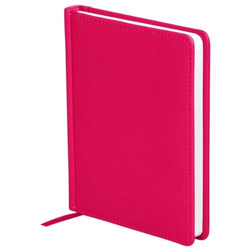 Ежедневник OfficeSpace Winner недатированный, искусственная кожа, А6, 136 листов, ярко-розовый ежедневник officespace winner недатированный искусственная кожа а5 136 листов розовый