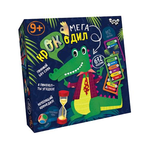 Купить Настольная игра Danko Toys Мегакрокодил CROC-03-01, Настольные игры