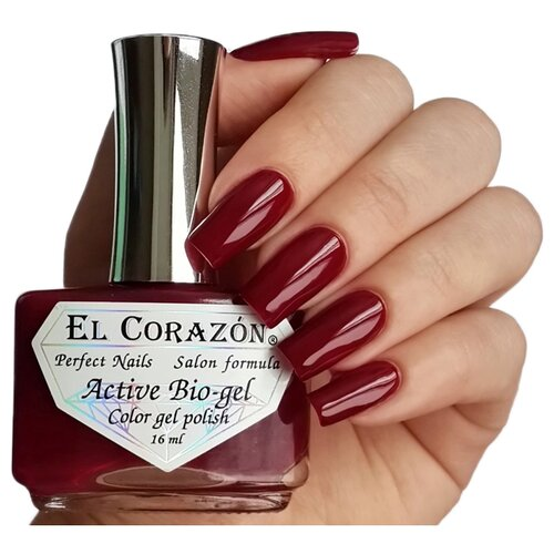 Гель El Corazon Active Bio-gel polish Cream, 16 мл, 423/266 chi luxury black seed oil curl defining cream gel