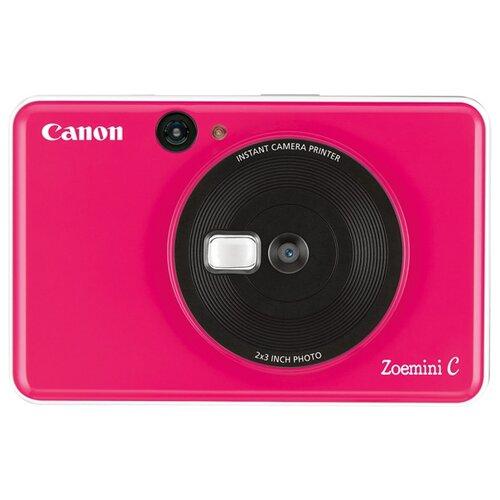 Фото - Фотоаппарат моментальной печати Canon Zoemini C розовый карманный принтер canon zoemini pv123 whs exp белый