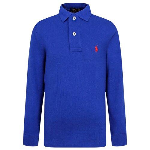 Купить Поло Ralph Lauren размер 128, синий, Футболки и майки