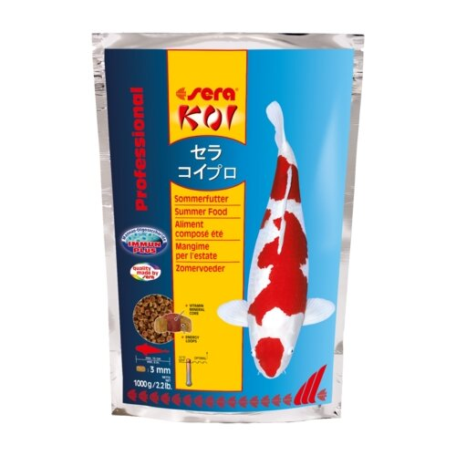 Сухой корм для рыб Sera Koi Professional лето 1000 г