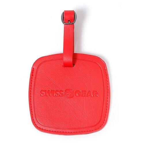 Бирка для багажа SWISSGEAR красная