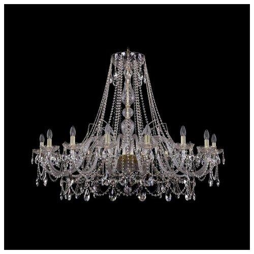 Люстра Bohemia Ivele Crystal 1411 1411/16/460/G, E14, 640 Вт bohemia ivele crystal подвесная люстра 1411 12 380 72 g