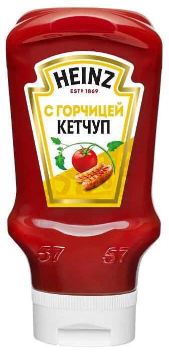 Купить Кетчуп Heinz с горчицей, пластиковая бутылка-перевертыш 570 г по низкой цене с доставкой из Яндекс.Маркета (бывший Беру)