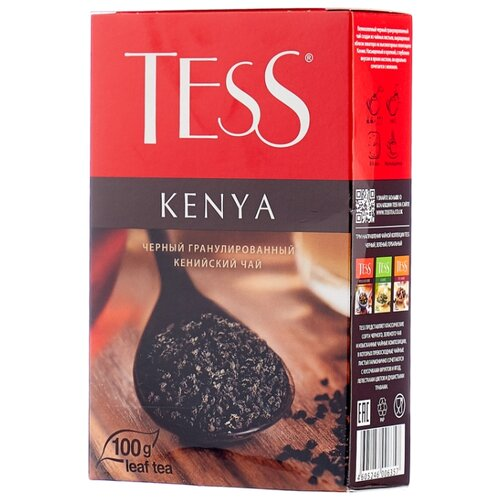 Чай черный Tess Kenya , 100 г чай черный tess pleasure с