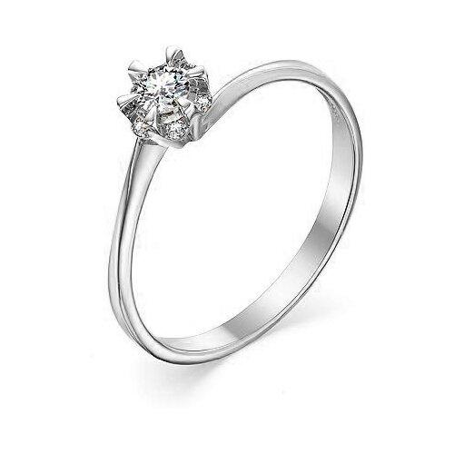 Фото - Мастер Бриллиант Кольцо с 7 бриллиантами из белого золота 1-106-900, размер 18 yvel кольцо с 7 бриллиантами из белого золота 2061000231632 размер 18