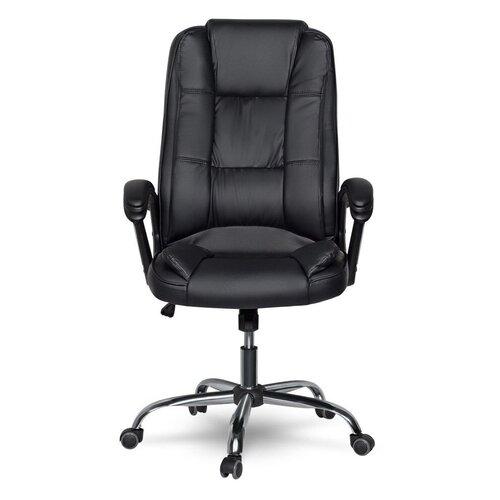 Компьютерное кресло College CLG-616 LXH для руководителя, обивка: искусственная кожа, цвет: черный