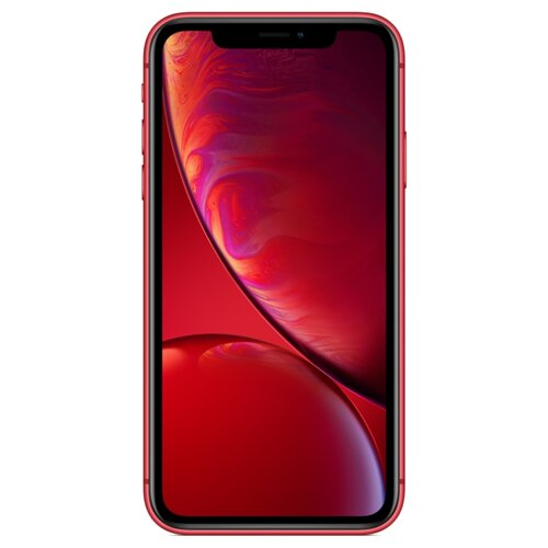фото Смартфон apple iphone xr 128gb красный (mh7n3ru/a) slimbox