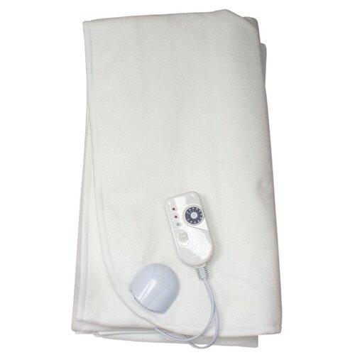 Электропростыня EcoSapiens Согревай-ка ES-401 150х120 см белый