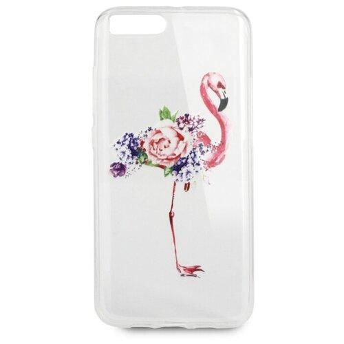 Купить Чехол Pastila Spring picture для Xiaomi Mi6 фламинго в цветах