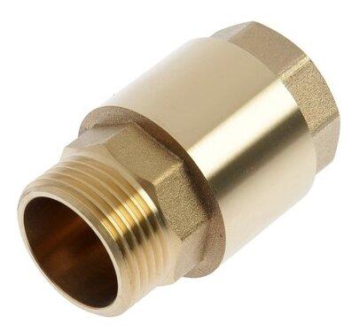 Обратный клапан пружинный TAEN CV.603 муфтовый (ВР/НР), латунь