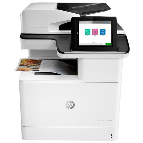 Фото - МФУ HP Color LaserJet Enterprise MFP M776dn белый/черный мфу hp color laserjet enterprise 800 mfp m880z a2w75a цветной a3 46ppm факс дуплекс hdd 320гб ethernet usb