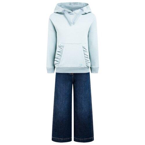 Купить Комплект одежды Il Gufo размер 140, зеленый/синий, Комплекты и форма